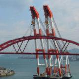 関空連絡橋吊り上げのクレーン船がデカイ!費用はいくらで会社はどこ?